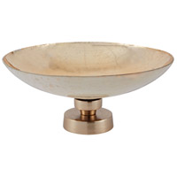 Mercury 13 X 5 inch Bowl in Brushed Champagne