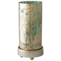 Gilded Sea 12 inch Blue Hurricane Portable Light, Small