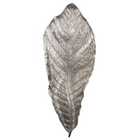 Dimond Home 468017 Colossal Silver Tray, Leaf thumb