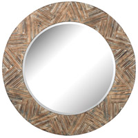 Signature 48 X 48 inch Natural Drift Wood Mirror Home Decor, Large