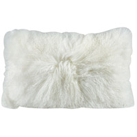 Apres-ski 20 X 12 inch White Pillow