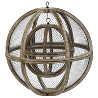 Wire Atlas Natural Decorative Sphere
