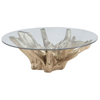 Dimond Home 7011-002 Signature 47 X 47 inch Champagne Gold Coffee Table