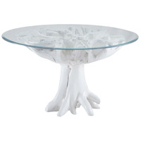 Dimond Home 7011-004 Signature 54 X 54 inch Gloss White Entry Table