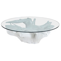 Dimond Home 7011-005 Signature 47 X 47 inch White Coffee Table