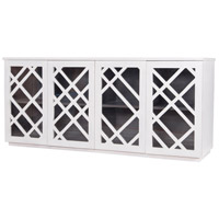 Dimond Home 7011-035 Plaid White Credenza