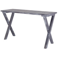 Cross Legged 54 X 18 inch Restoration Grey Console Table Home Decor