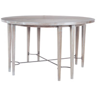 Empire Restoration Grey Entry Table, Stretcher