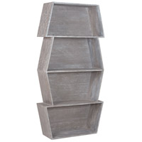 Dimond Home 7011-046 Glenn Restoration Grey Bookcase, Stackable