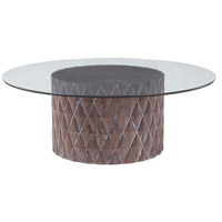 Coco 48 X 48 inch Restoration Grey Coffee Table Home Decor
