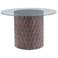 Coco Restoration Grey Entry Table