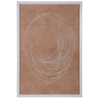 Hoops White Wall Decor