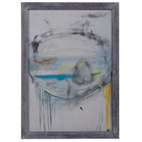 Abstract Eye Grey Wash Wall Art