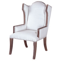Sandel Weather Grey Finish Library Chair
