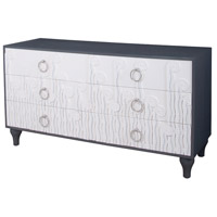 Dimond Home 7011-1044 Deco Fern Cappuccino Foam,Antique Smoke Chest thumb