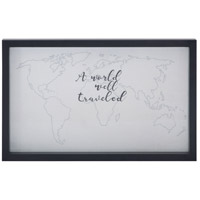 A World Well Traveled 22 X 14 inch Art Print