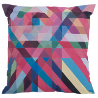 Color Ribbons 24 X 5 inch Multi Pillow