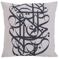 Street 24 inch Hand Painted Pillow Cover, II