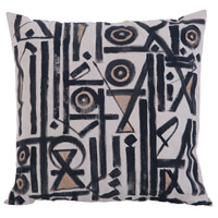 Street 24 inch Hand Painted Pillow Cover, III