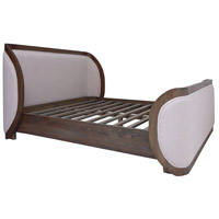 Alexander Cappuccino Foam Queen Bed