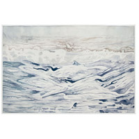Dimond Home 7011-1246 Rip Tide Gloss White Wall Art