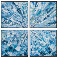 Dimond Home 7011-1258 Radial 74 X 74 inch Art Print photo thumbnail