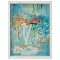 Seasonal Seas Gloss White Wall Art