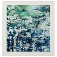 Dimond Home 7011-1274 Lakescape Gloss White Wall Art