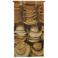 Stacked Cowboy Hats 57 X 26 inch Tapestry