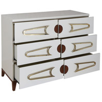 Dimond Home 7011-1516 Bang Cappuccino Foam and Polished Brass and Brown Stain Chest, 3 Drawer 7011-1516_alt1.jpg thumb