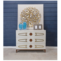 Dimond Home 7011-1516 Bang Cappuccino Foam and Polished Brass and Brown Stain Chest, 3 Drawer 7011-1516_rm1.jpg thumb