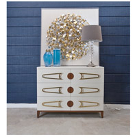 Dimond Home 7011-1516 Bang Cappuccino Foam and Polished Brass and Brown Stain Chest, 3 Drawer 7011-1516_rm2.jpg thumb