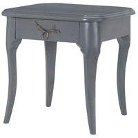 Dimond Home 7011-190 Edward 20 X 20 inch Antique Smoke Side Table thumb