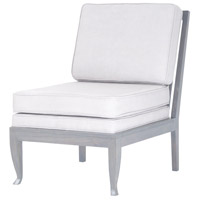 Janice Antique Smoke and Morning Mist Lounge Chair Home Decor