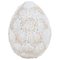 Dimond Home 7163-044 Abra Alba Natural Decorative Egg thumb