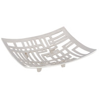 Dimond Home 8178-064 Keishi Nickel Plate Footed Tray