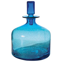 Dimond Home 824015 Pool 12 X 9 inch Decanter in Blue, Small, Small