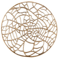 Dimond Home 8468-064 Spidersilk 51 X 51 inch Metal Wall Art