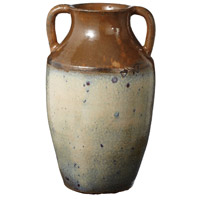 Dimond Home 857009 Ochre 17 X 9 inch Olive Jar in Brown and Cream