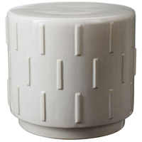 Tread White Stool Home Decor
