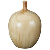 Marble 14 X 10 inch Bottle in Brown, Large, Large