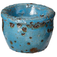 Rustic Ocean Blue Tea Light