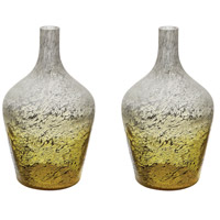 Dimond Home 876031/S2 Ombre 14 X 9 inch Bottle in Lemon
