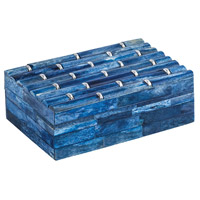 Dimond Home 8903-072 Bambloo 6 X 4 inch Navy Blue Box thumb