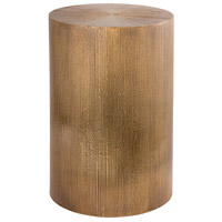 Gold Bar 12 inch Antique Brass Accent Table
