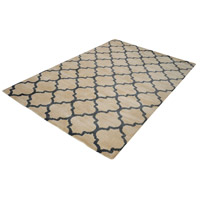 Wego 60 X 36 inch Natural and Black Rug in Small