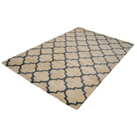 Wego 96 X 60 inch Natural and Black Rug in Large