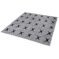 Eton Black and White Rug