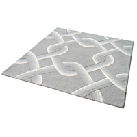 Dimond Home 8905-193 Desna 16 X 16 inch Grey Rug in 16-inch Square thumb