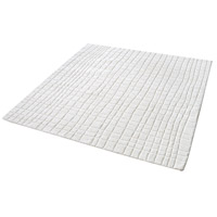 Dimond Home 8905-223 Blockhill 16 X 16 inch Cream Rug in 16-inch Square thumb